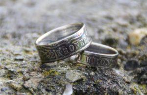 mønt ring, ring af mønter, fabrikanterne vejle, møntringen