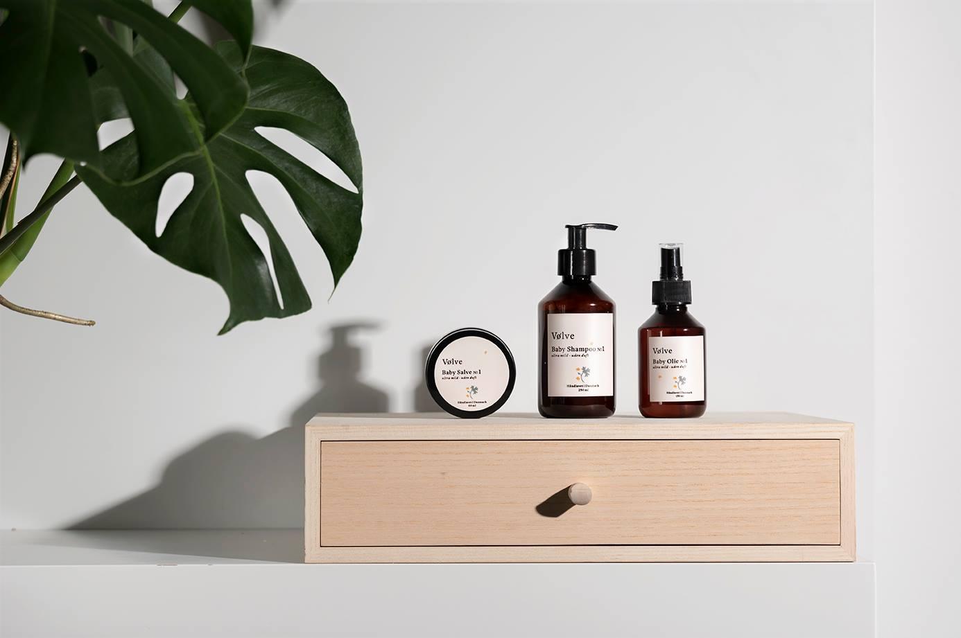 Økologiske skønheds produkter