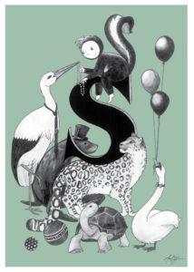 Ane Bjørn Illustrationer, Fabrikanterne Vejle Midtpunkt, Dansk design