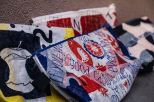 Fused bags, upcycling, fabrikanterne vejle midtpunkt